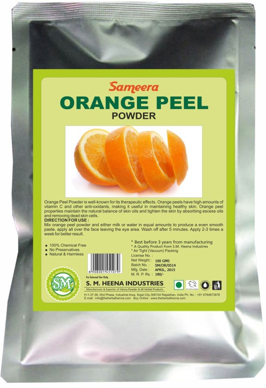 Sameera Orange Peel Powder(100 g)