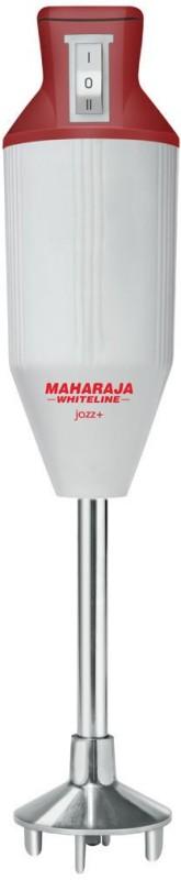 Maharaja Whiteline HB-104 125 W Hand Blender(Red, White)