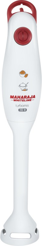 Maharaja Whiteline Turbomix HB-100 350 W Hand Blender(Red, White)