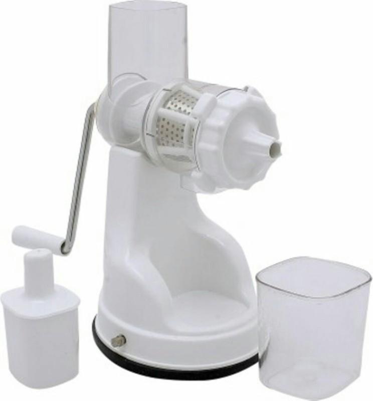 JE Plastic, Steel Hand Juicer(White)