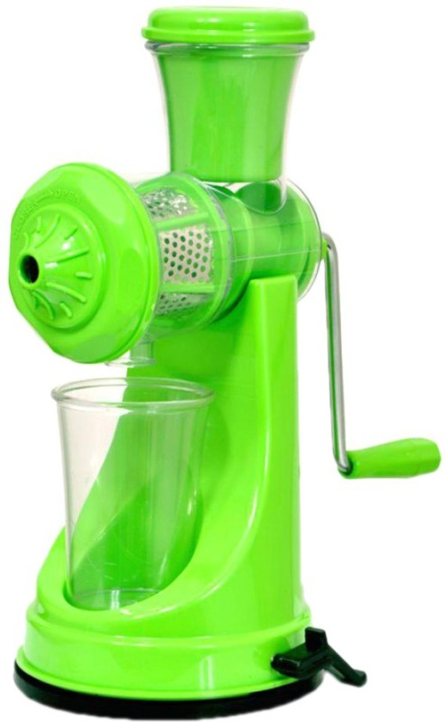 Head Kvarters Hand Fruit & Vegetable Juicer With Free Juice Cup( Colour May Varies) Plastic, Steel Hand Juicer(Multicolor)