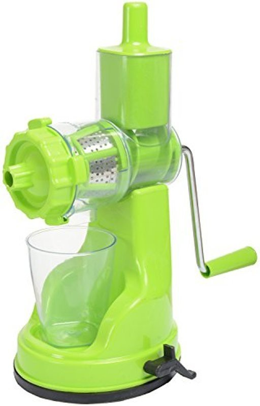 DATTHA Plastic, Stainless Steel, Glass Hand Juicer(Green)