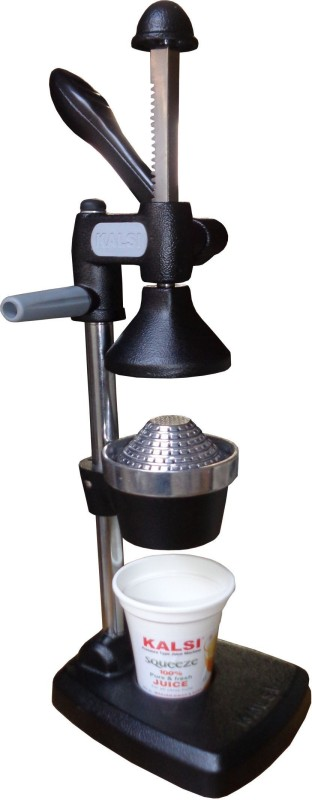 kalsi Aluminium Hand Juicer(Black)