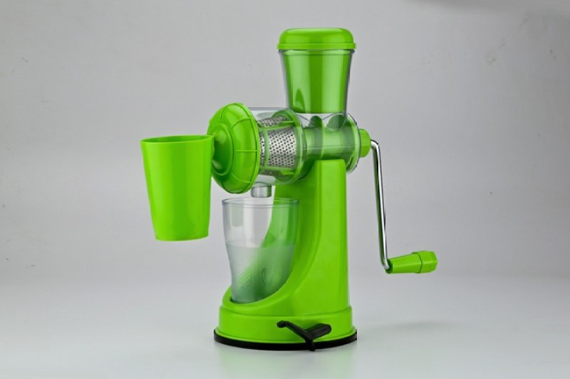 Ambition Plastic, Stainless Steel Hand Juicer(Green Pack of 1)