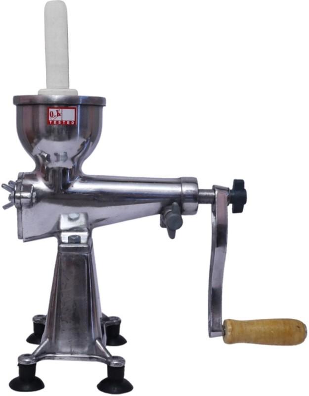 Golddust Classic Aluminium Hand Juicer(Silver)