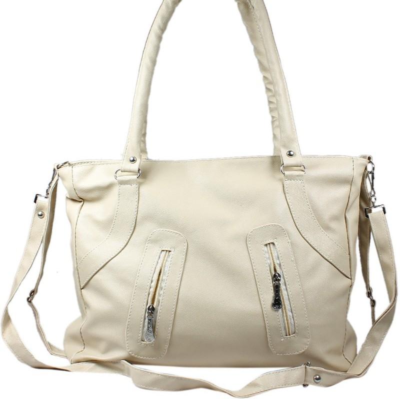 MyLook Women White Shoulder Bag
