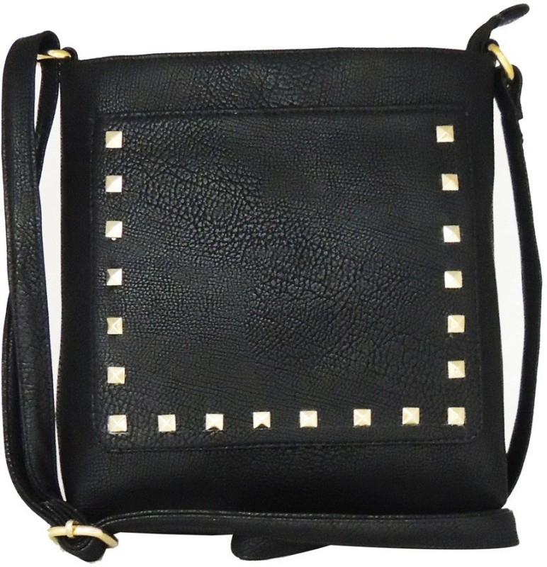 Jacy London Black Sling Bag