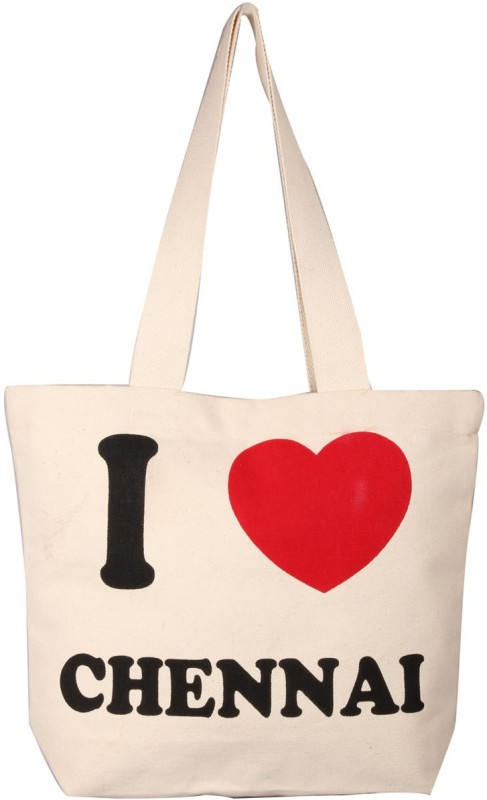 LimeBerry Girls White Tote