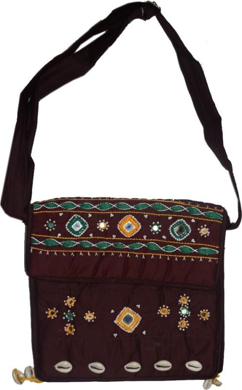 Muren Women Brown Messenger Bag