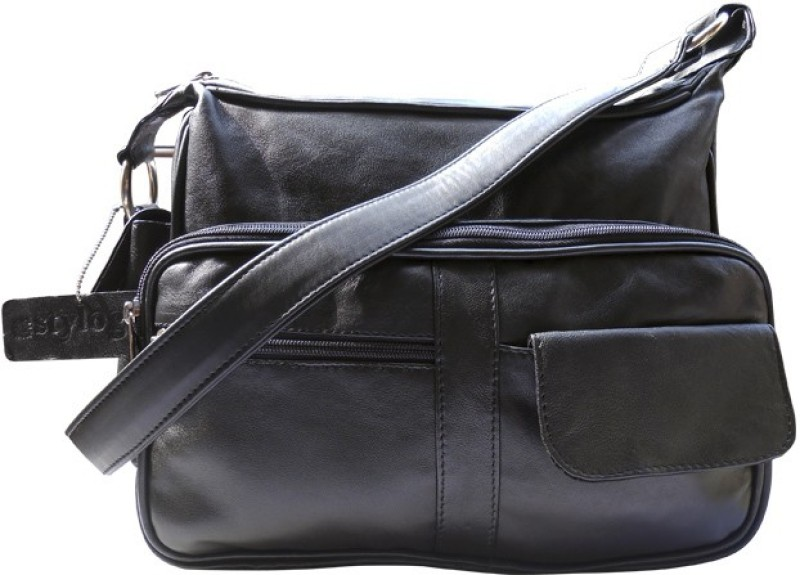 Stylogy Women Black Shoulder Bag