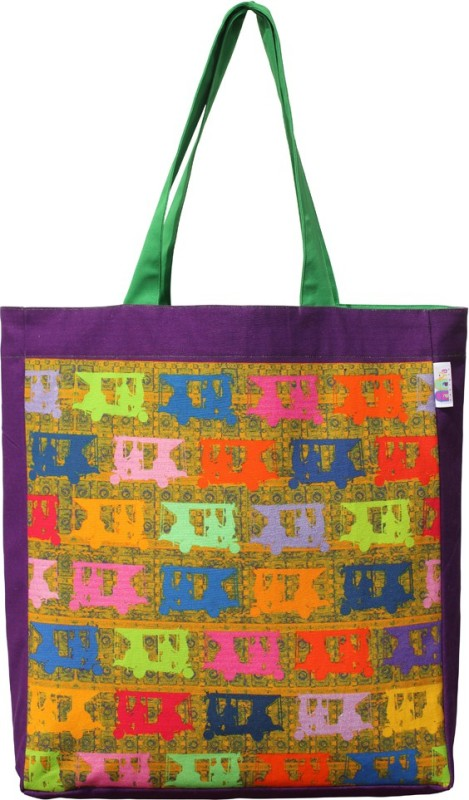 Fatfatiya Women Multicolor Tote