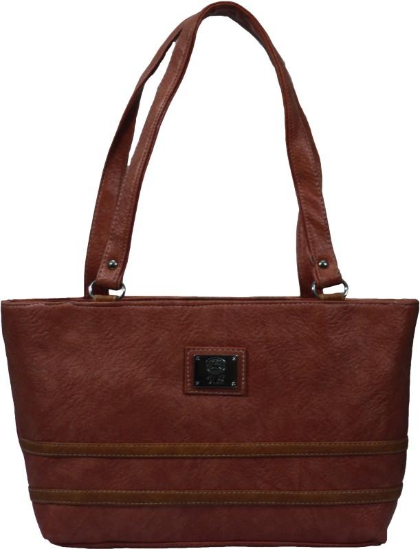 VS Creation Women Maroon Shoulder Bag