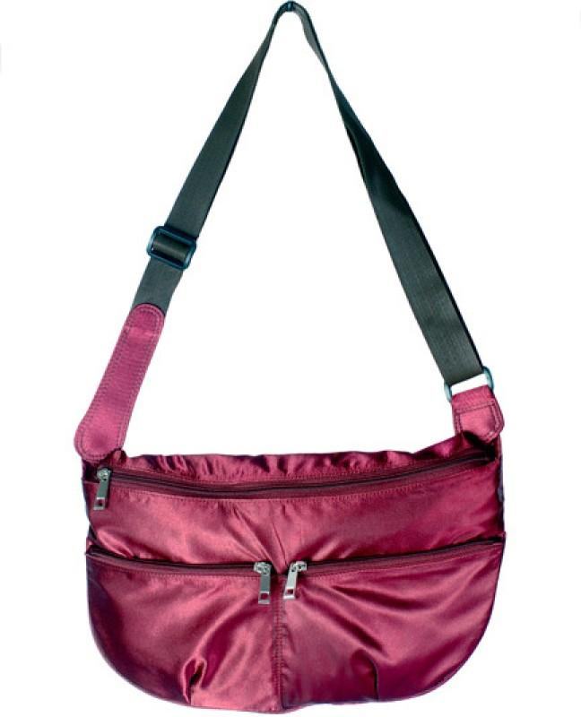 Rambler Women Red Messenger Bag
