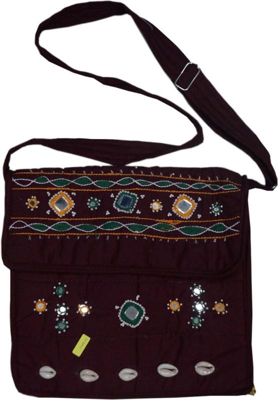 Muren Women Maroon Messenger Bag