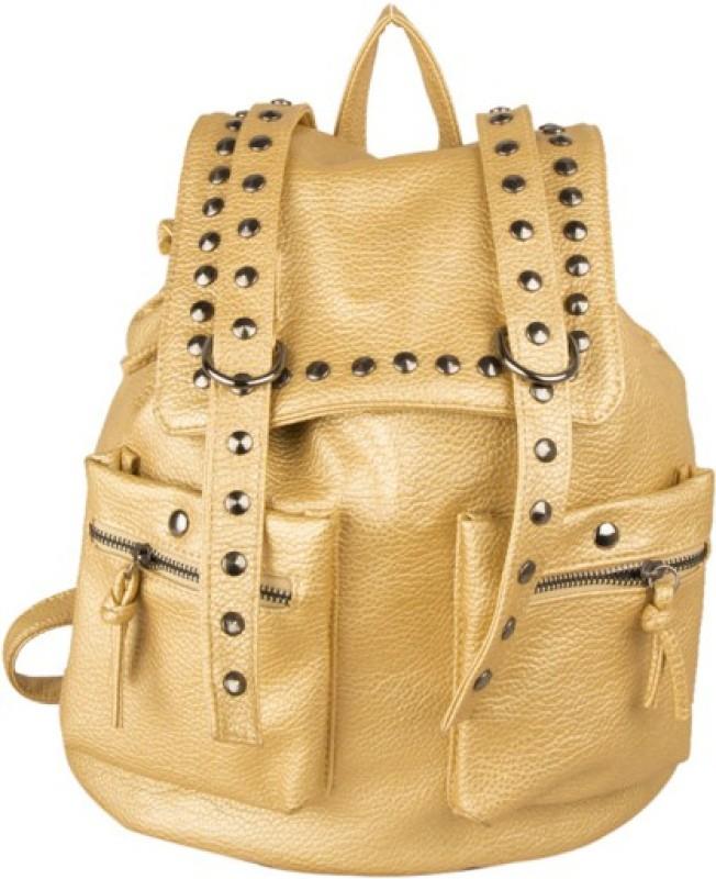 Legal Bribe Women Gold Shoulder Bag