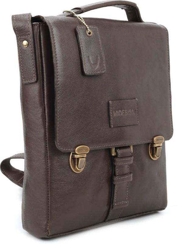 Hidesign Men Brown Messenger Bag