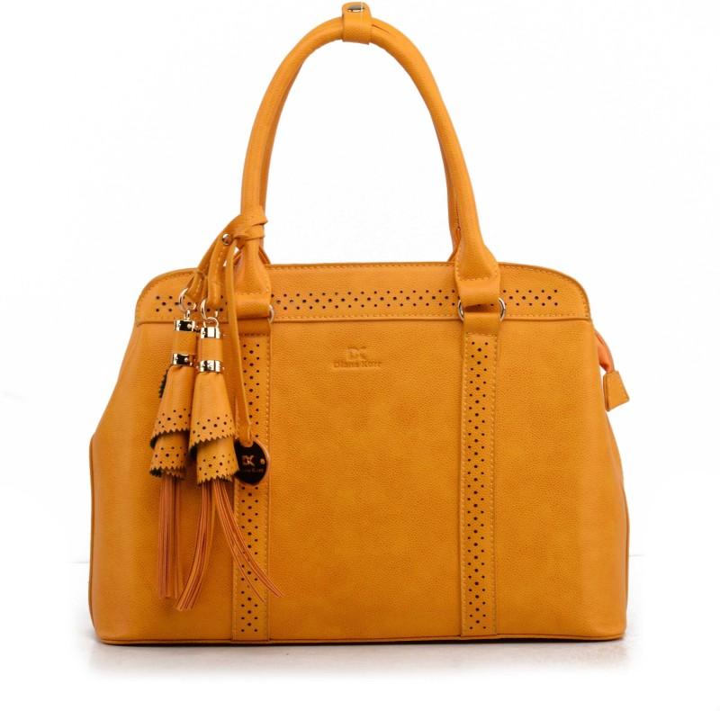 Diana Korr Women Yellow Hand-held Bag