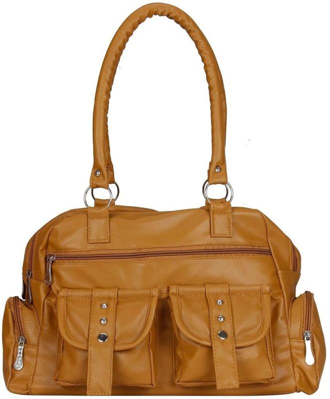 MAEVA Women Tan Hand-held Bag