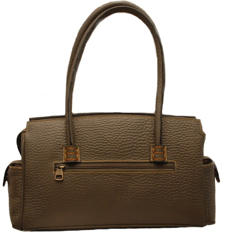 Sophia Visconti Women Khaki Satchel
