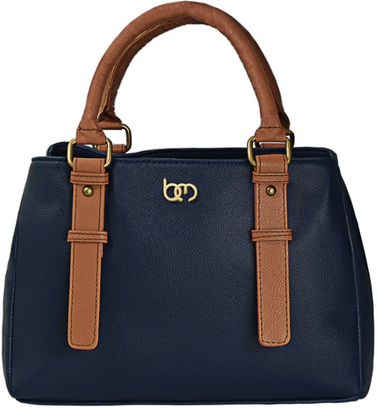 Bagsy Malone Women Blue, Brown Hand-held Bag