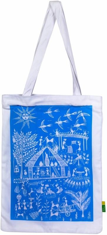 Eco Corner Women Blue Shoulder Bag