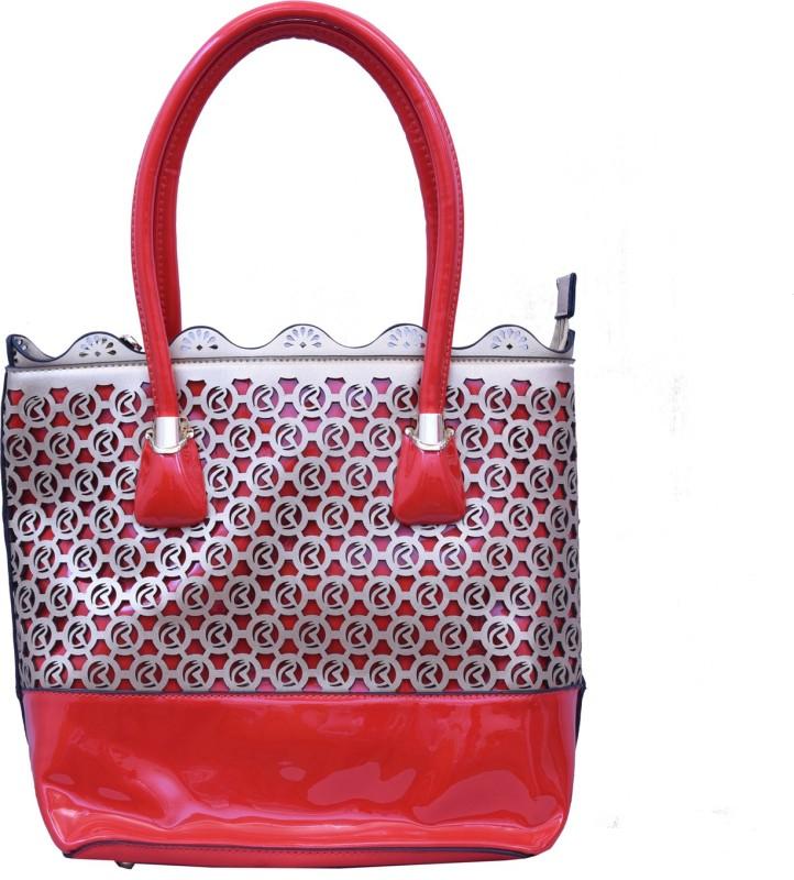 Charu Boutique Women Silver, Red Hobo