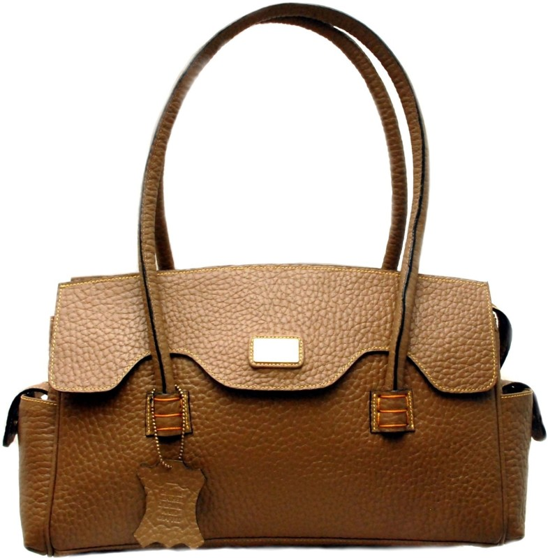 Sophia Visconti Women Brown, Beige Satchel