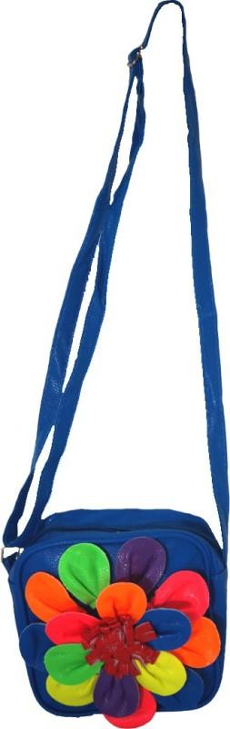 Muren Blue Sling Bag
