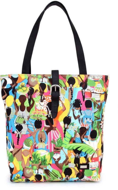 U+N Women Multicolor Hand-held Bag