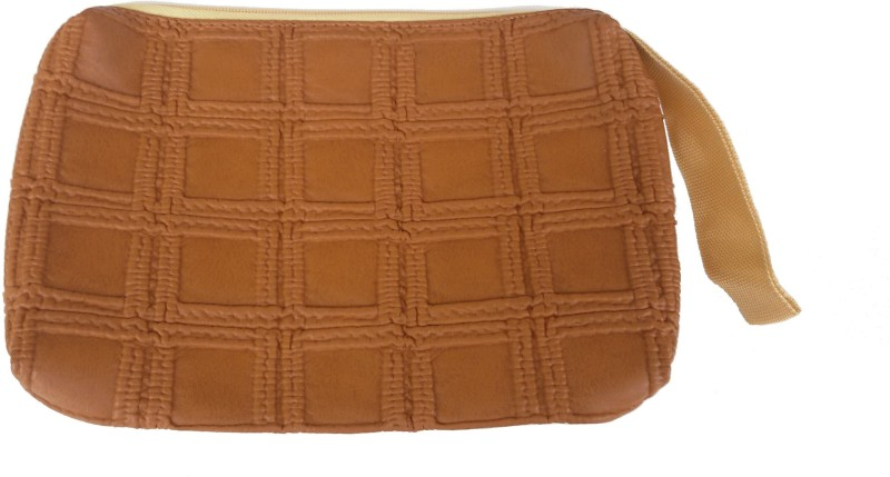 Viva Wristlet Cosmetic Bag(Brown)
