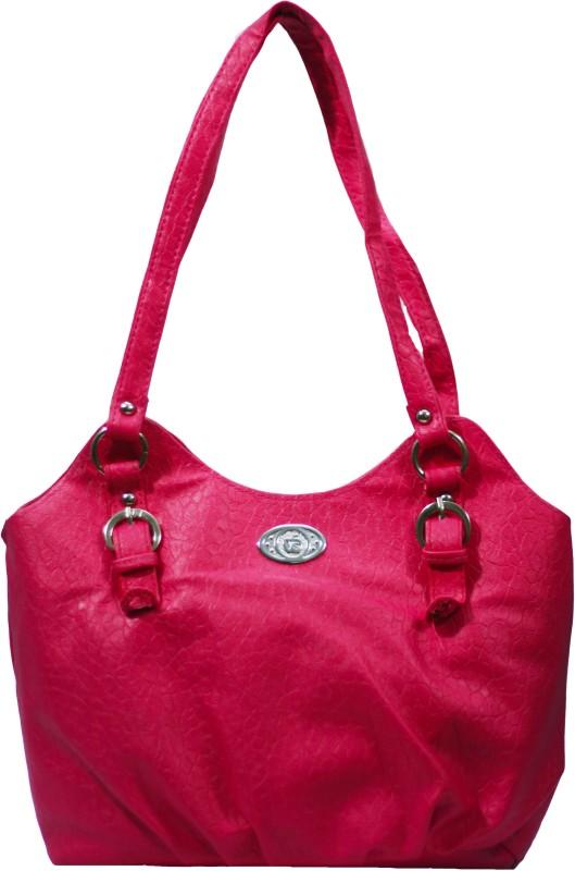 VS Creation Women Pink Shoulder Bag