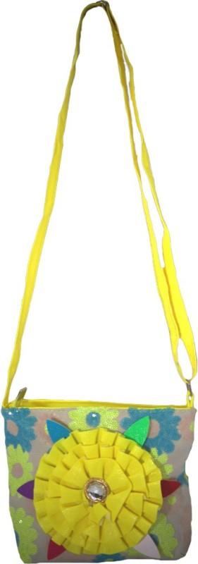 Muren Yellow Sling Bag