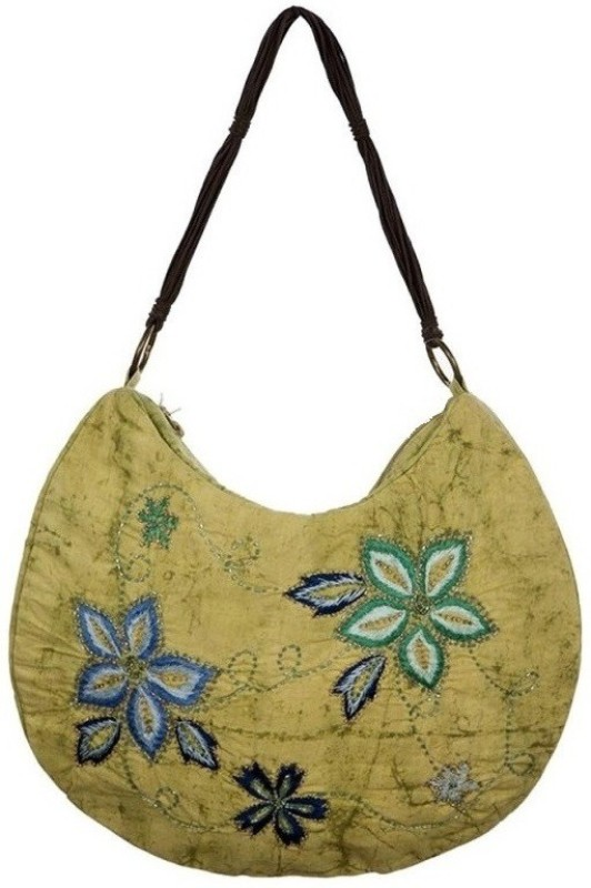 Miruna Designs Women Green Shoulder Bag
