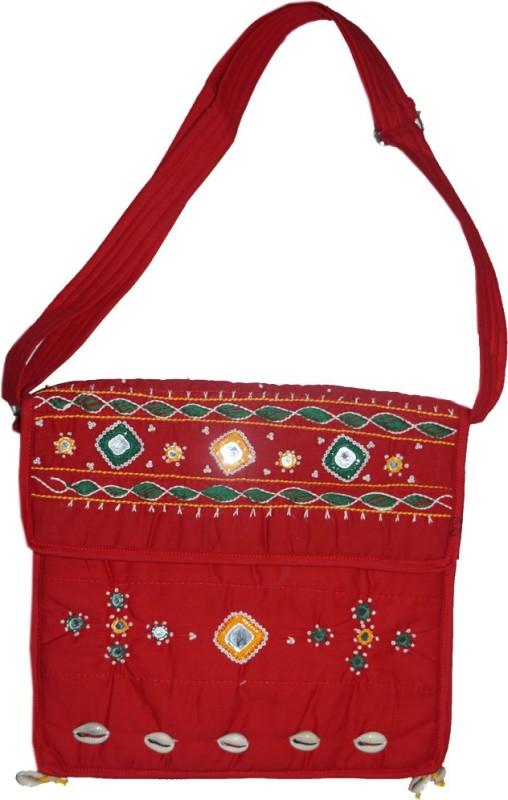 Muren Women Red Messenger Bag