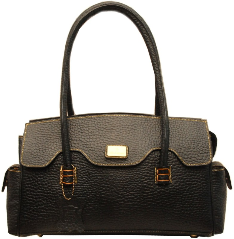 Sophia Visconti Women Black Satchel