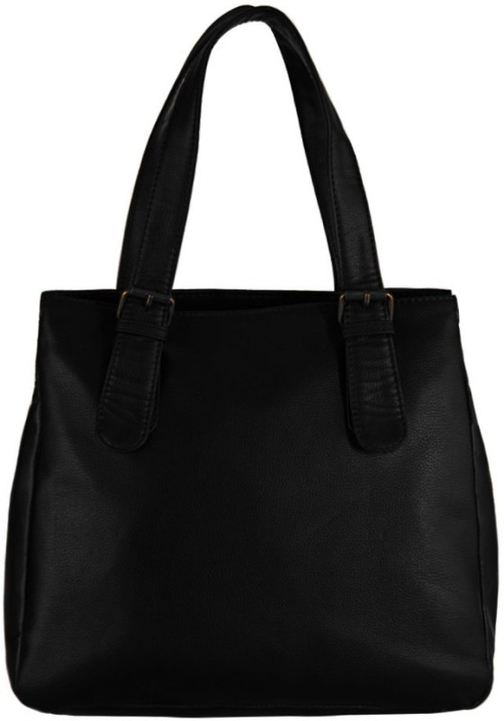 Borsavela Women Black Messenger Bag