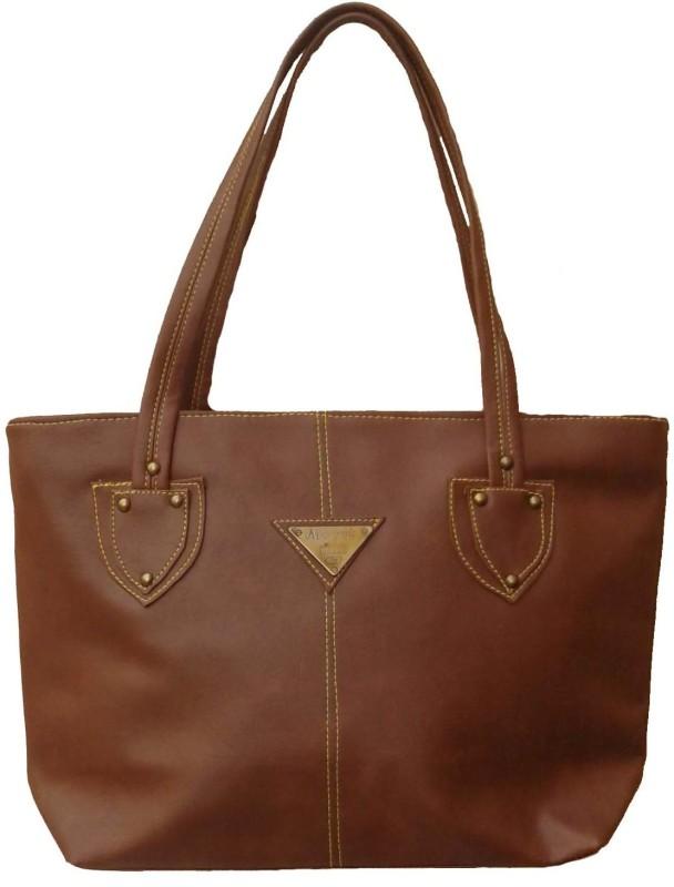 Goldeno Women Brown Shoulder Bag