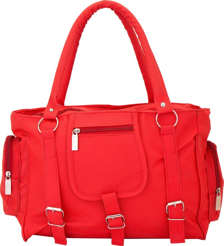 Lady Bar Women Red Shoulder Bag