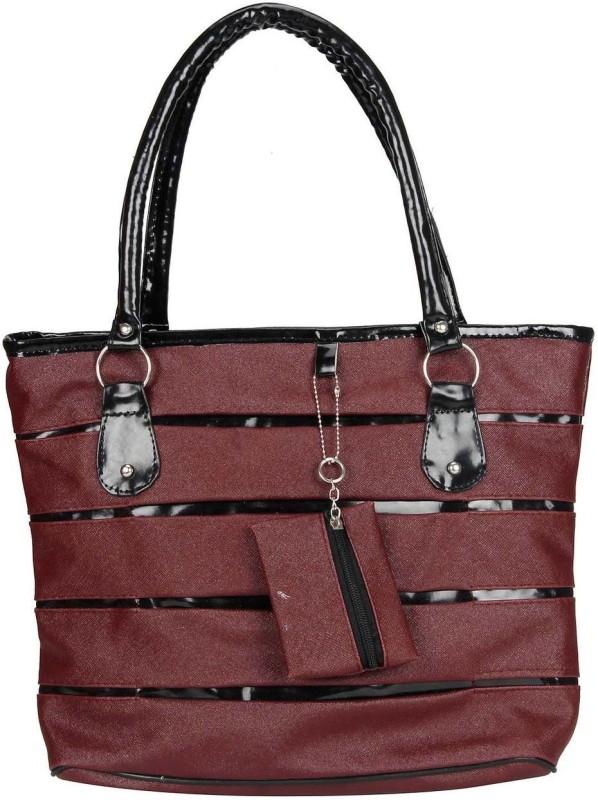 MAEVA Women Maroon Hand-held Bag