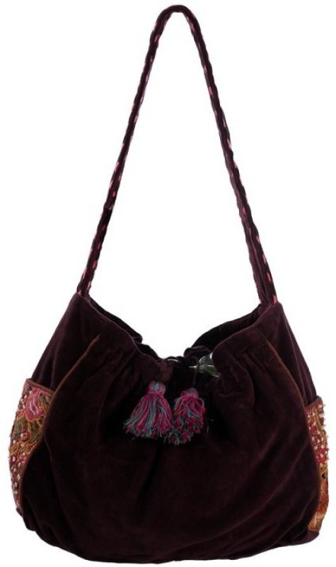 Miruna Designs Women Blue Shoulder Bag