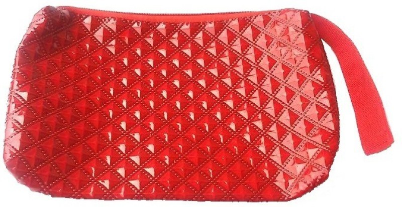 Viva Wristlet Cosmetic Bag(Red)
