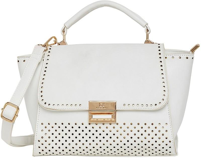 Diana Korr Women White Hand-held Bag