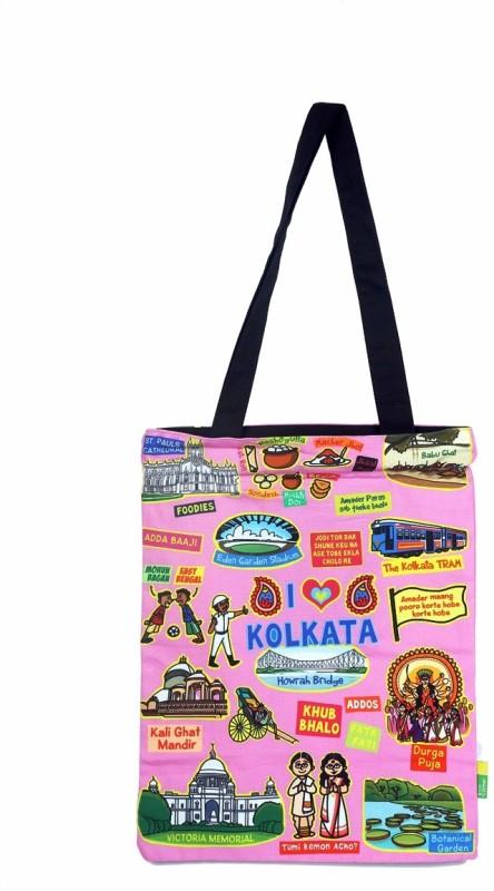 Eco Corner Women Pink Shoulder Bag