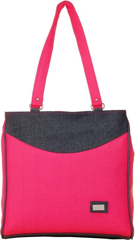 JG Shoppe Women Pink, Black Hand-held Bag