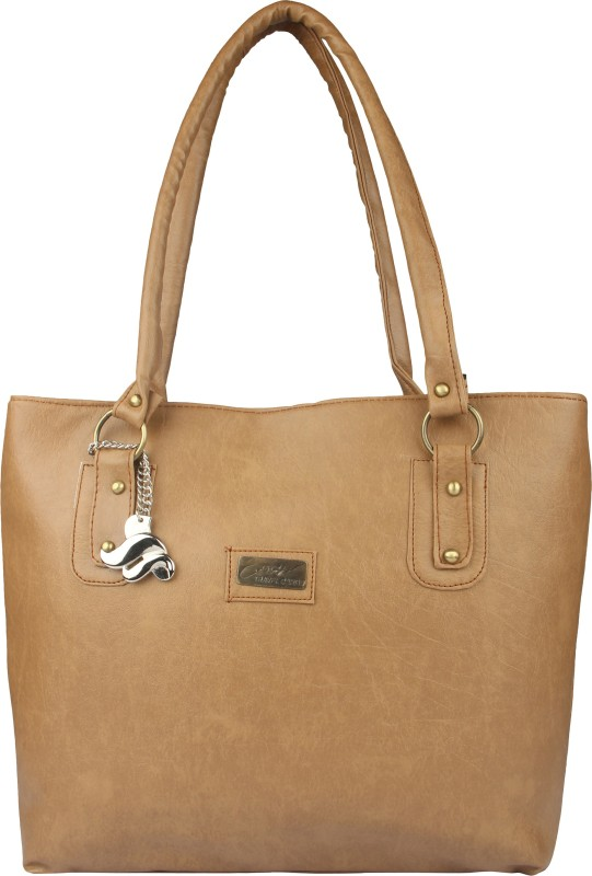 Lady bar Women Tan Hand-held Bag