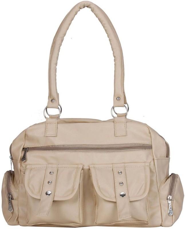 MAEVA Women Beige Hand-held Bag