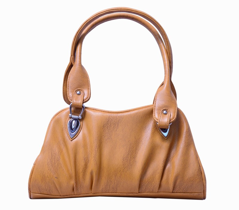 Charu Boutique Women Beige Satchel
