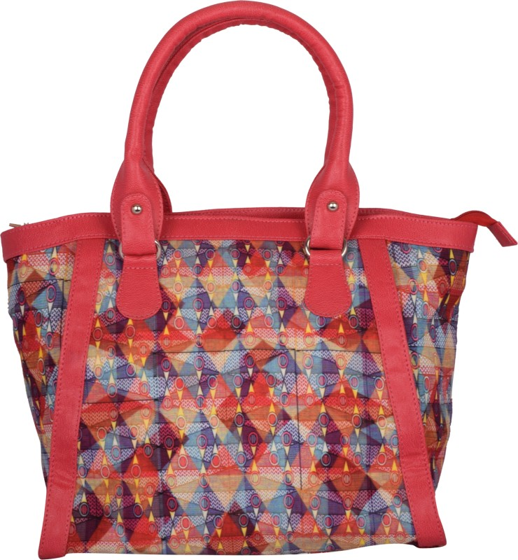 Kanvas Katha Hand-held Bag(Multicolor)
