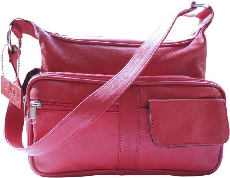 Stylogy Women Red Shoulder Bag