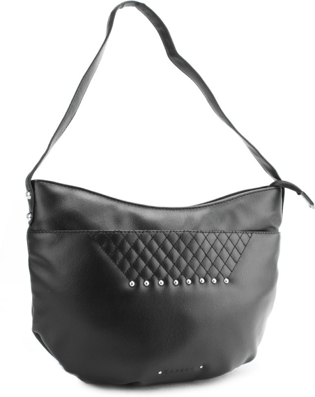 Caprese Hand-held Bag(Black)